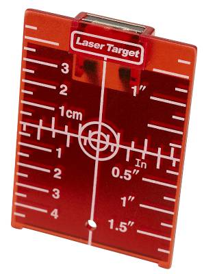 Product image TARGET PLATE RED